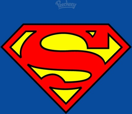 superman flat logo