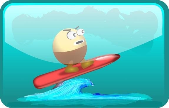 Surfing Egghead