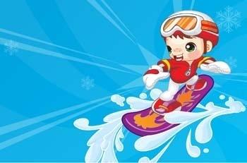 surfing sport vector 16