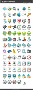 SusieSunnyBaz Icons icons pack