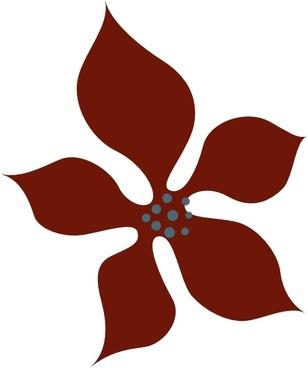 Sutrannu Red Flower clip art