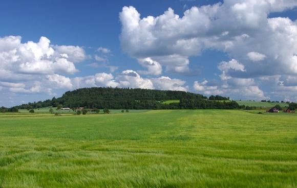 sweden landscape sky
