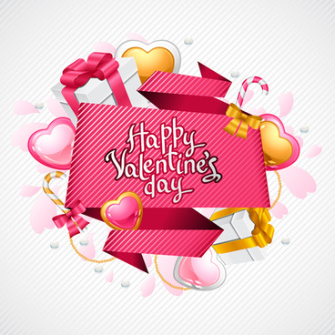 sweet valentine cards design vector