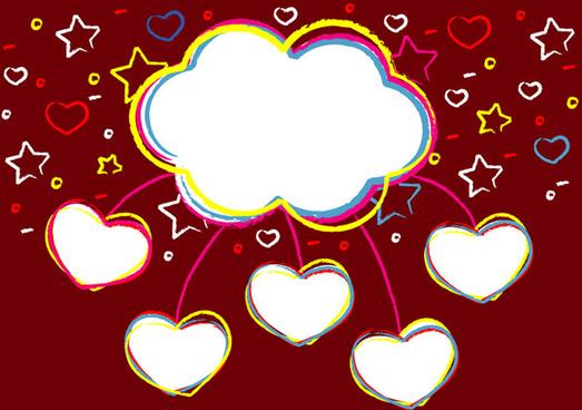 sweet valentines clouds