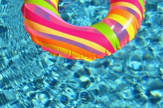 Swim Ring In The Pool