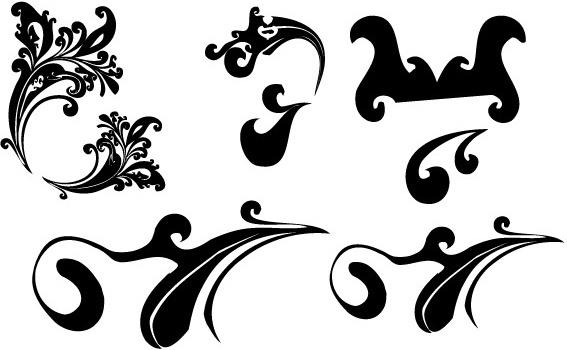 Swirl 3 vectors