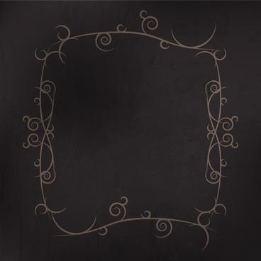 swirl frame border