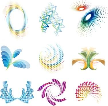 swirl motion icons