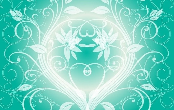 SWIRLY DARK GREEN BACKGROUND