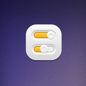 switch button psd layered