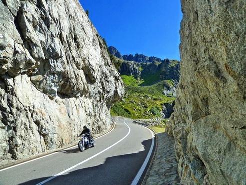 switzerland motorcycle summer
