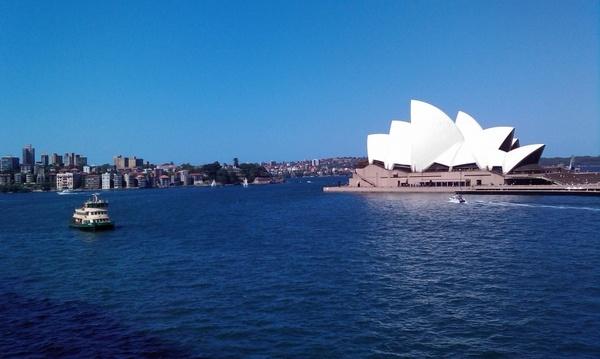 sydney opera harbor