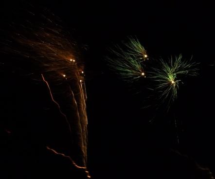 sylvester firework 2013