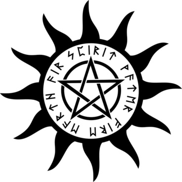 Symbol with pentagram