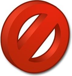 Symbols Forbidden