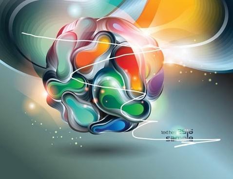 symphony ball vector