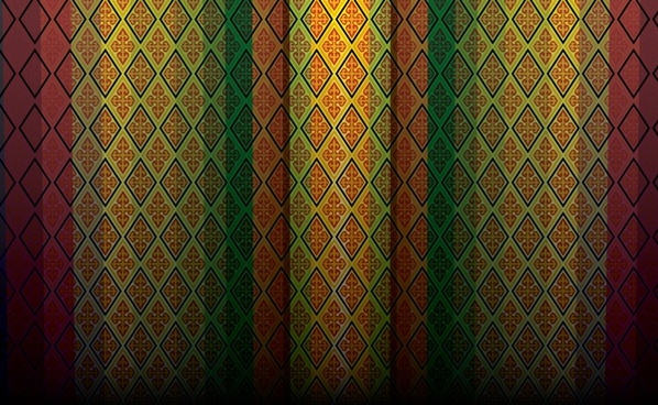 decorative background traditional pattern decor repeating geometric design