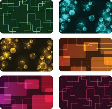 decorative backgrounds templates modern flat shiny bubble geometric
