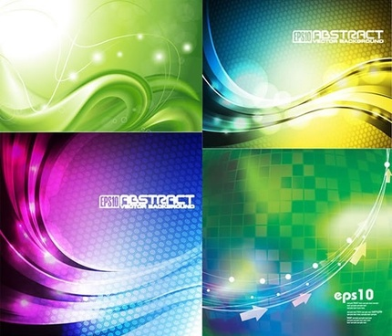decorative background templates modern twinkling dynamic light effect