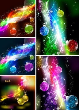 xmas backgrounds modern twinkling dynamic fantasy lights decor