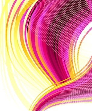 symphony line background vector