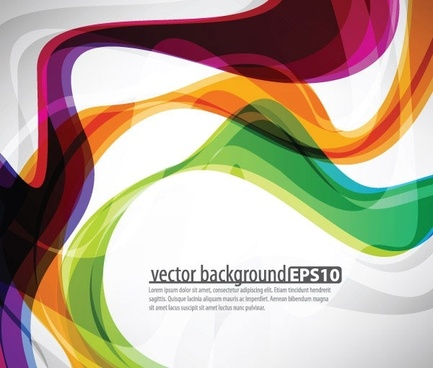 symphony of dynamic lines of the background vector 4