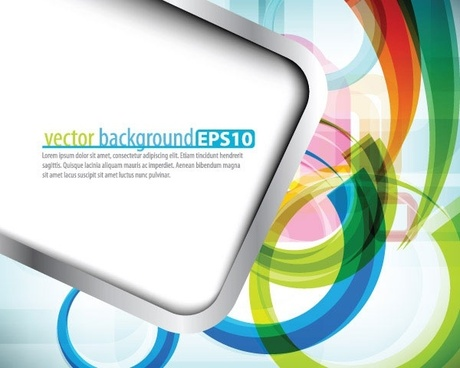 symphony of dynamic lines of the background vector 5
