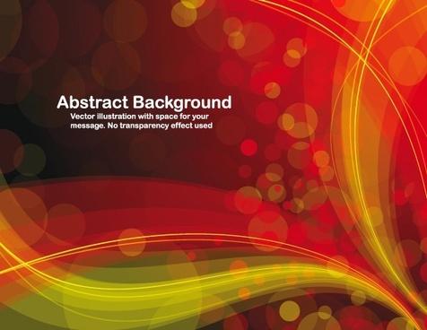 symphony of light vector background