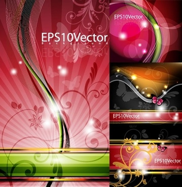 symphony of the background pattern vector