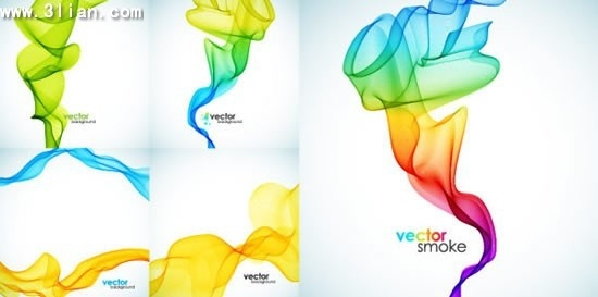 smoke background templates colorful 3d dynamic design