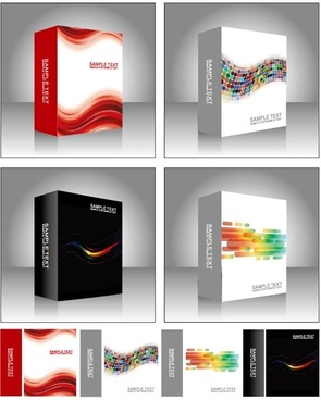 symphony software box vector