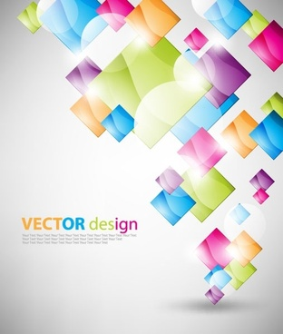 symphony square background vector