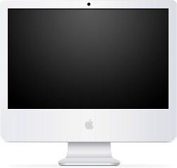 System iMac Black