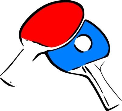Table Tennis clip art