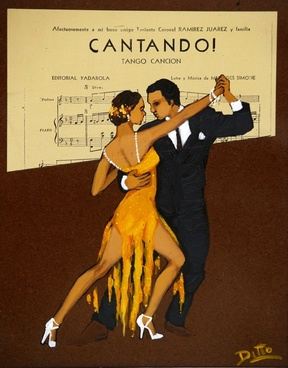 tango advertisement sign