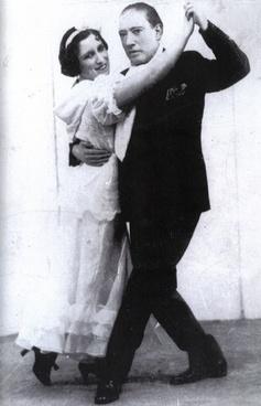 tango dance pair