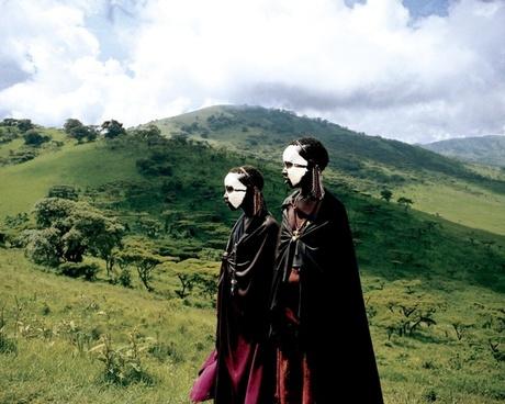 tanzania landscape tribesmen
