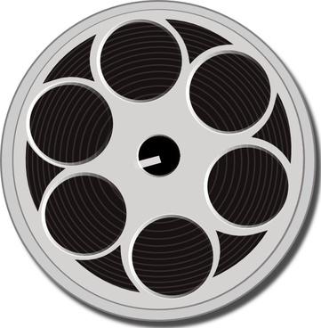 Tape File Reel clip art