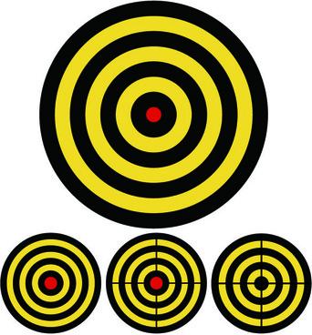 target design vector graphic