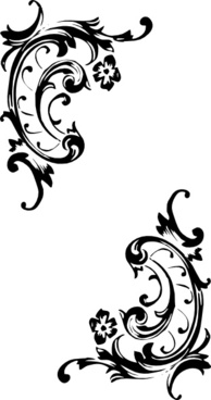 Tattoo Decorative Pattern clip art