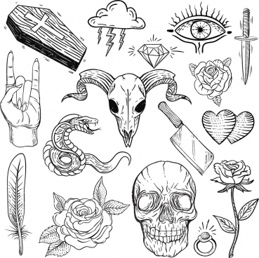 Tattoo Free Vector Download 620 Free Vector For Commercial Use