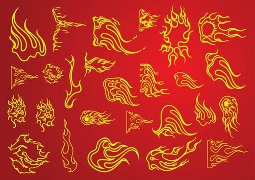 Tattoo Fire Flames