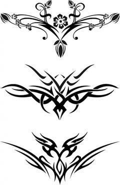 Free tattoo stencil designs free vector download (701 Free vector ...