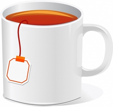 tea cup with teabag