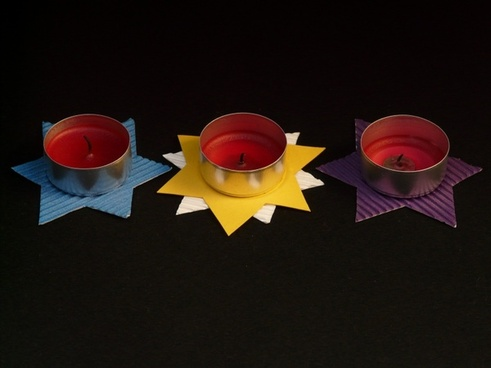 tea lights tinker star