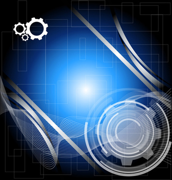technical design elements vector backgrounds