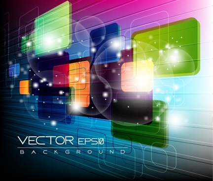 technological sense gorgeous abstract elements vector