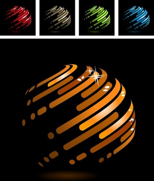 sphere backgrounds dark colored shiny 3d sketch