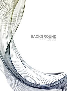 technologie wire blue business stylish wave background illustration