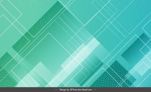 technology abstract background modern bright green geometric layout